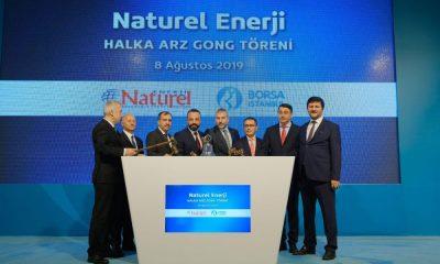 BORSA İSTANBUL'DA GONG NATUREL ENERJİ İÇİN ÇALDI